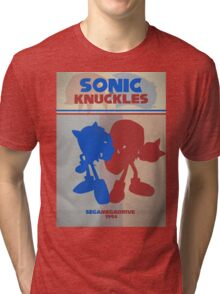 Megadrive - Sonic and Knuckles Tri-blend T-Shirt