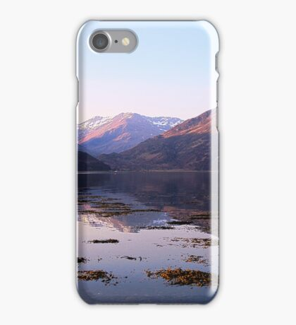 Loch Duich Sunrise iPhone Case/Skin