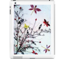 Dragonfly Bouquet IV iPad Case/Skin