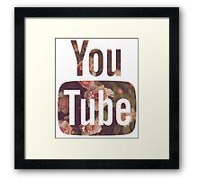 New Floral YouTube Framed Print
