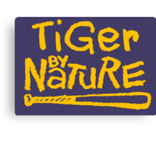 Tiger By Nature Canvas Print