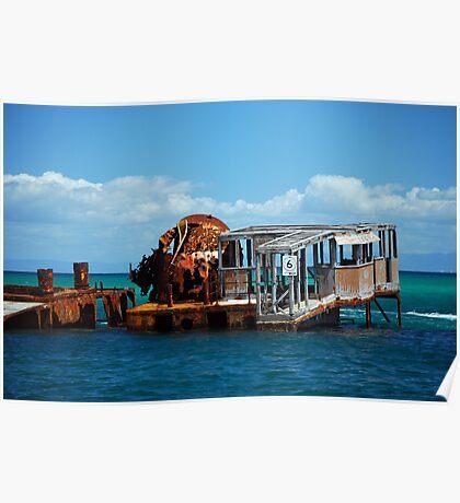 Water World - Moreton Island Poster