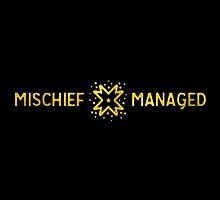 Mischief Managed by Corinna Djaferis