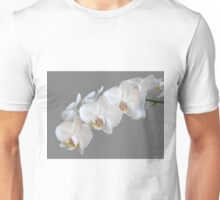 White Orchids Unisex T-Shirt