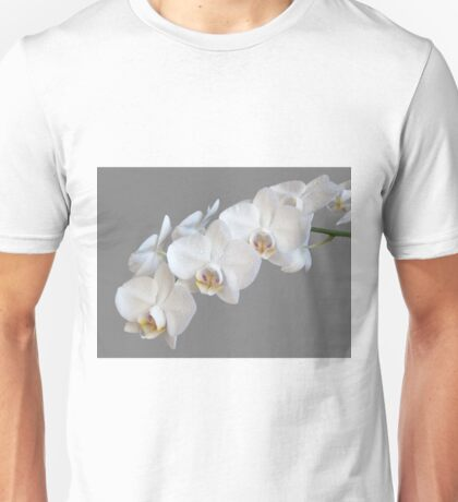 White Orchids Unisex T-Shirt