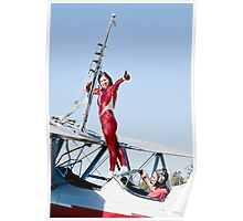 Margi Stivers Wing Walker Poster