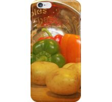 Cascading Vegetables iPhone Case/Skin