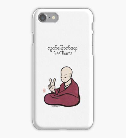 Free Burma iPhone Case/Skin