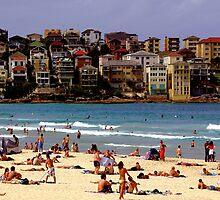 Bondi Beach by John Mitchell