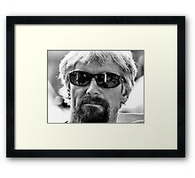 Surf's Up Dude! Framed Print