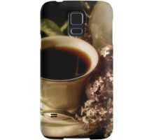 Coffee and Lilacs in the Morning Samsung Galaxy Case/Skin