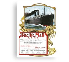 Pacific Mail Canvas Print