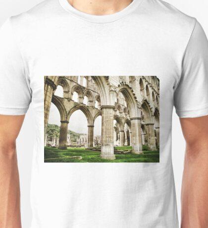 Cloisters of Rievaulx Abbey Unisex T-Shirt
