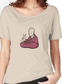 """""""V"""" Peace Monk Women's Relaxed Fit T-Shirt"""