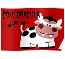 Cow Dracula Poster