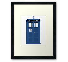 Dr Who T.A.R.D.I.S  Framed Print