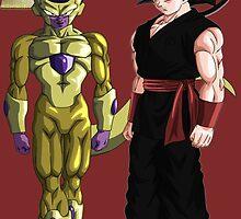 Goku Vs Freezer by Magnetz