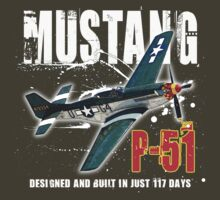 P-51 MUSTANG by redboy