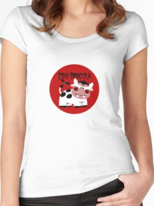 Cow Dracula Women's Fitted Scoop T-Shirt