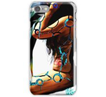 Robotic Lady iPhone Case/Skin