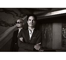 Niart Band - Jimmy and Pat Photographic Print