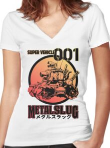 Super Vehicle 001 Women's Fitted V-Neck T-Shirt