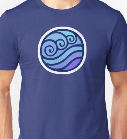 Waterbending Symbol Unisex T-Shirt