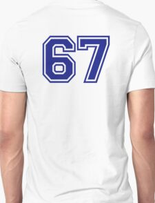 Number 67 Unisex T-Shirt