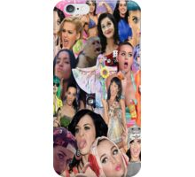 Katy Perry collage iPhone Case/Skin