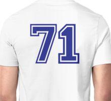 Number 71 Unisex T-Shirt