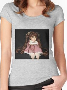 Baby doll Women's Fitted Scoop T-Shirt