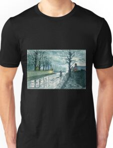 Church Lane by Moonlight Unisex T-Shirt