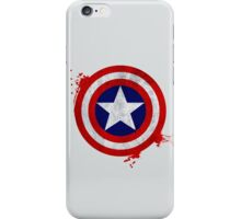 Captain America Shield - Vintage iPhone Case/Skin