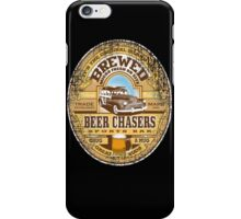beer chasers iPhone Case/Skin