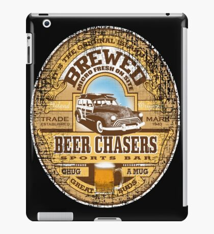 beer chasers iPad Case/Skin