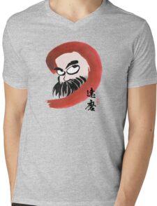 達磨 Daruma Mens V-Neck T-Shirt