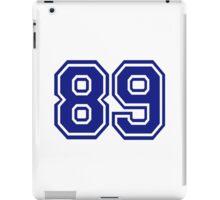 Number 89 iPad Case/Skin