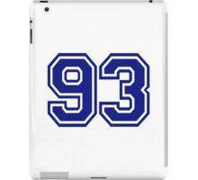 Number 93 iPad Case/Skin