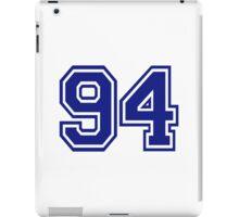 Number 94 iPad Case/Skin