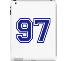 Number 97 iPad Case/Skin