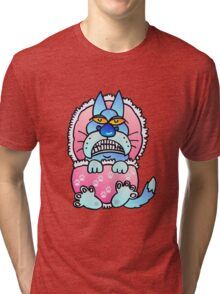 Baby blue Tri-blend T-Shirt