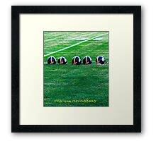 taking 6 Framed Print