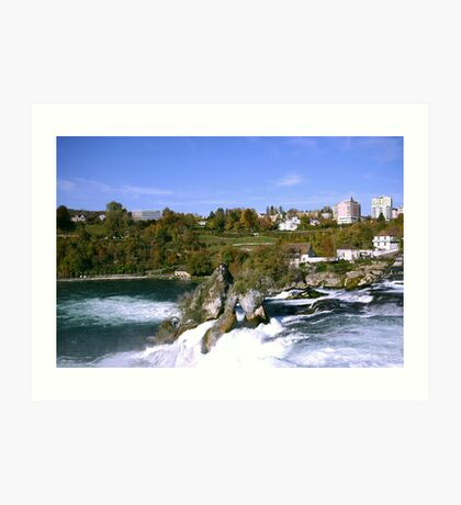 Top of the Falls Art Print