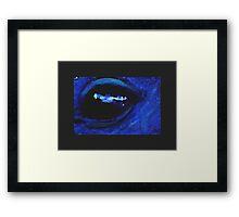 Equine Eye  Framed Print