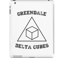 Greendale Delta Cubes iPad Case/Skin