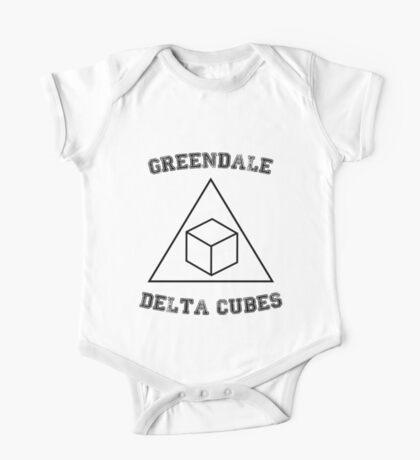 Greendale Delta Cubes One Piece - Short Sleeve
