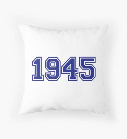 1945 Throw Pillow