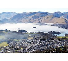 Keswick from the top of Latrigg   Photographic Print