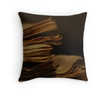 Archive no.2 Throw Pillow