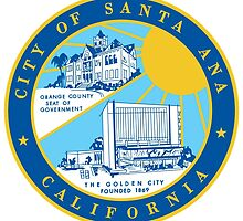 Seal of Santa Ana by abbeyz71